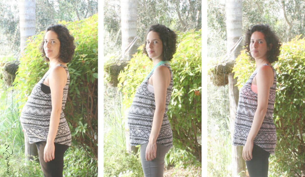 3 Stages of pregnancy belly growth
